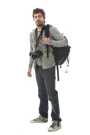 photography session: Professional Photographer Stock Photo