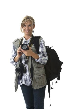 photography session: Photographer Stock Photo
