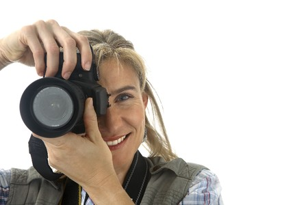 photography session: Photographer taking picture