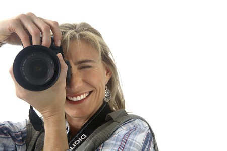 Photographer taking picture photo