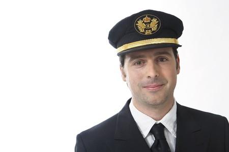 pilotos aviadores: Piloto  Foto de archivo
