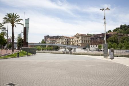 Representative building from Bilbao in front of Guggenheim. Bilbao, Vasc Country, Spain Stock Photo - 14963683