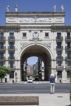 santander: Arch Bank of Santander, Santander, Spain Editorial