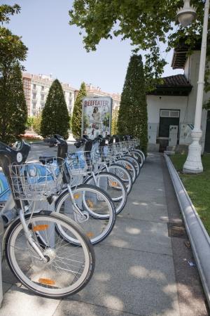 santander: Bicycles for rent, Santander, Spain
