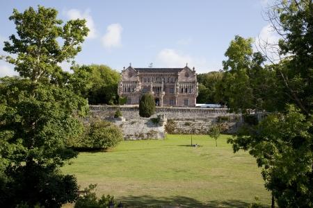 santander: Palace of the Marquess of Comillas, Santander, Spain Editorial