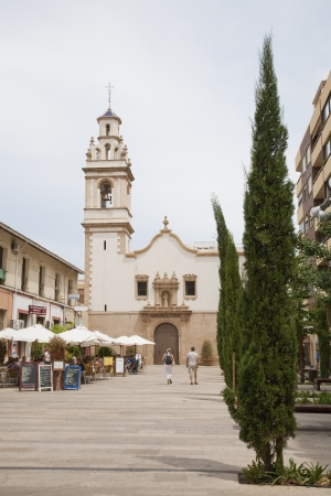 noone: Streets of Denia, Plaza del Convento, Alicante, Spain