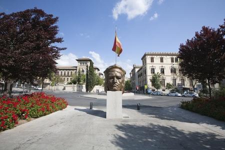 noone: Gran Via, Granada, City hall, Spain  Editorial