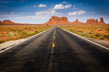 panorama view: Vista della Monument Valley da Highway 163