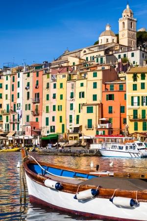 italian village: The colorful village of Portovenere, Italy