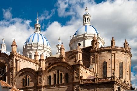 immaculate: Catedral de la Inmaculada Concepci�n, Cuenca, Ecuador