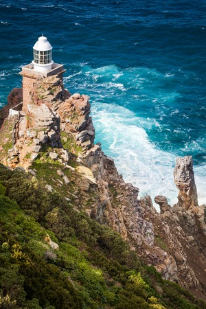 The new lighthouse at Cape Point, Cape Peninsula, South Africa Reklamní fotografie