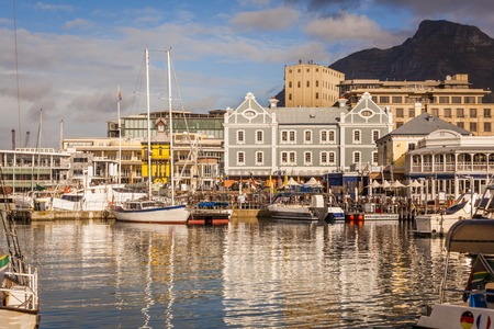 The Victoria and Albert Waterfront of Cape Town, South Africa