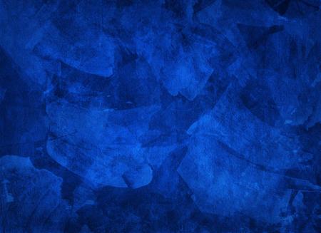 multi layered: Artistic hand painted multi layered dark blue background
