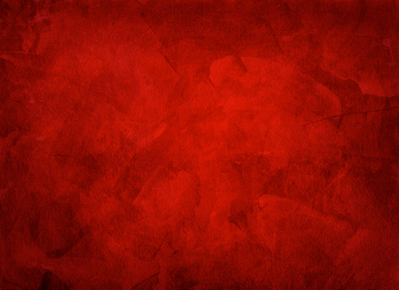 multi layered: Artistic hand painted multi layered red background - made for christmas purpose Stock Photo