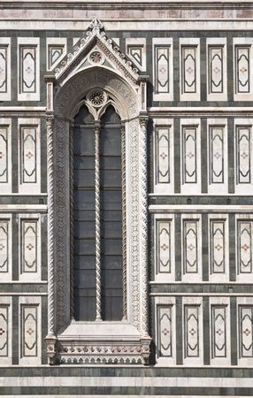 Italian Architecture, Florence Cathedral, Duomo, Basilica di Santa Maria del Fiore, Florence, Italy, Europe