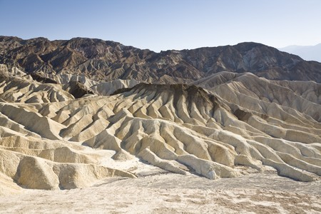 Zabriskie Point, Death Valley National Park, California, USA Stock Photo - 8226652