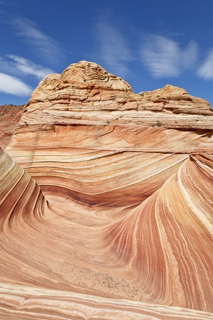 The famous rock formation in the  Paria Canyon-Vermilion Cliffs Wilderness, Arizona, USA