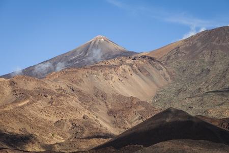 Mount Teide, a volcano on Tenerife, Canary Islands, Spain