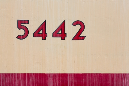Numbers on a coach, No. 5442