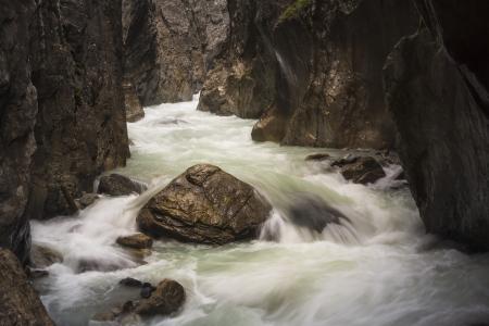 Rosenlaui Gorge, UNESCO World Heritage Site, Bernese Alps, Switzerland, Europe