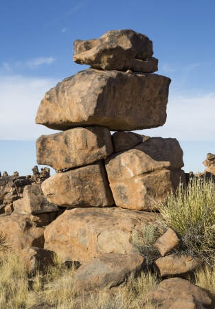 Strange rock formations in Namibia, Southern Africa