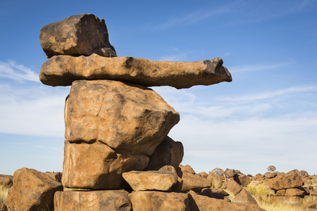 Rock formation, Giants Playground, Namibia, Southern Africa