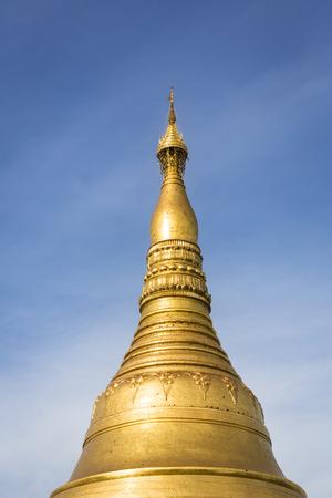 Part of the world famous Shwedagon Pagoda in Yangon, Myanmar