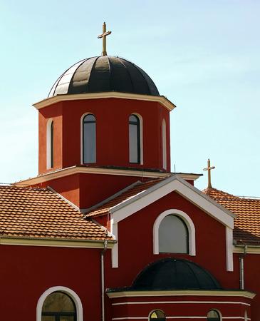 ortodox: ortodox church cupola and roof detail Stock Photo