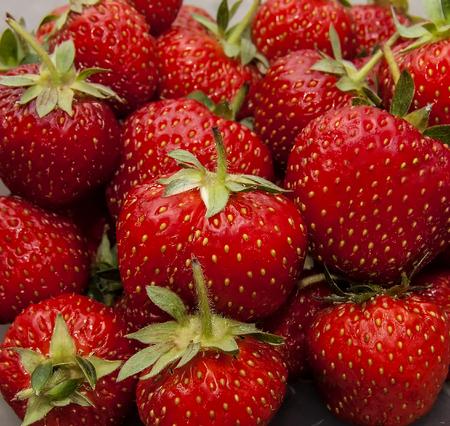 strawberries - full frame