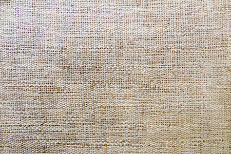 old brown canvas burlap texture as background