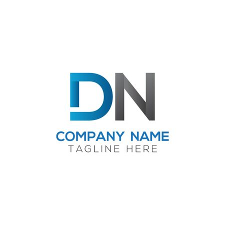 Initial DN Letter Logo With Creative Modern Business Typography Vector Template. Creative Abstract Letter DN Logo Vector.