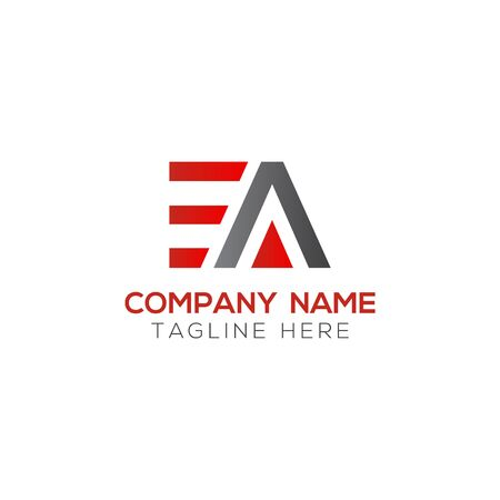Initial EA Letter Logo With Creative Modern Business Typography Vector Template. Creative Abstract Letter EA Logo Design