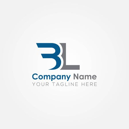 Initial BL Letter Logo With Creative Modern Business Typography Vector Template. Creative Abstract Letter BL Logo Design