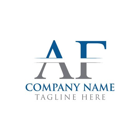 Initial AF Letter Logo With Creative Modern Business Typography Vector Template. Creative Abstract Letter AF Logo Design