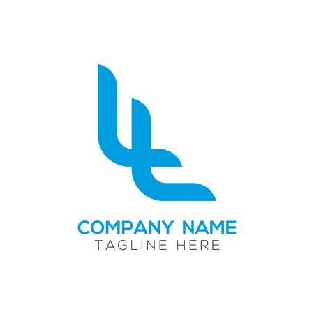 Initial LL letter Business Logo Design Template. Abstract Letter LL logo Design