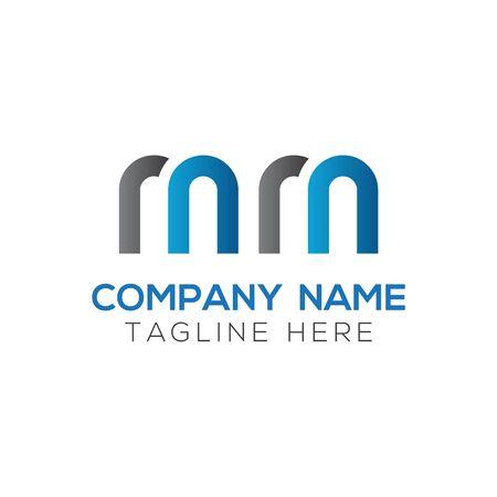 Initial MM letter Logo Design vector Template. Abstract Letter MM logo Design