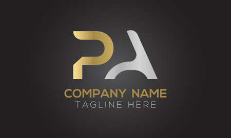 Initial PA Letter Logo With Creative Modern Business Typography Vector Template. Creative Letter PA Logo Vector.