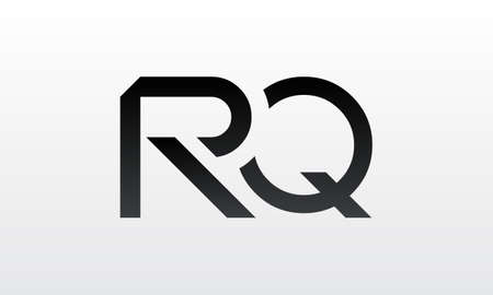 Initial rq letter logo with creative modern business typography vector template. Creative letter rq logo design.
