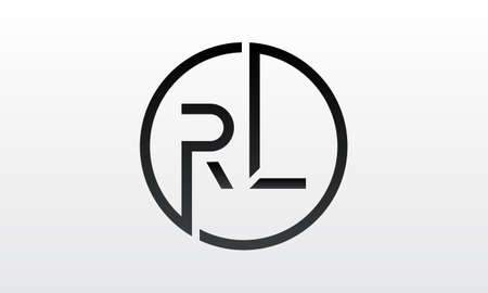 Initial rl letter logo with creative modern business typography vector template. Creative letter rl logo design.