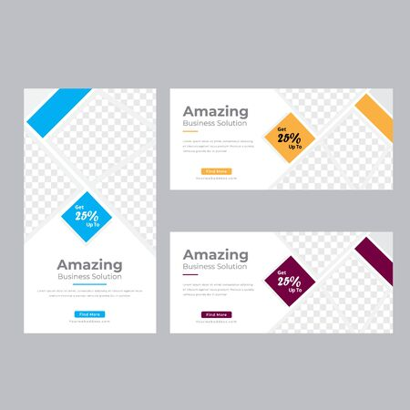 Corporate Business Web Banner set