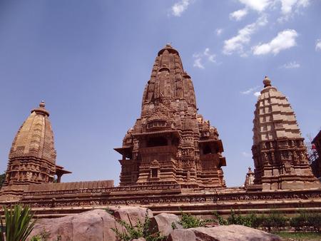 unesco world heritage site: Khajuraho Temple : A UNESCO world heritage site