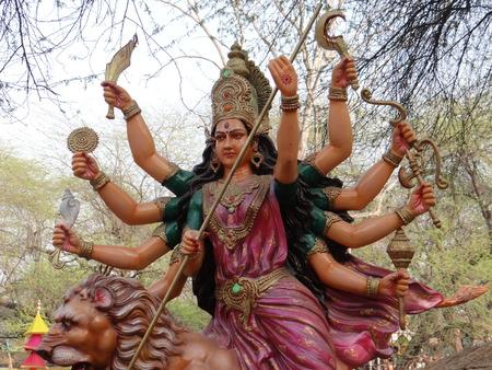 devotee: Goddess Durga