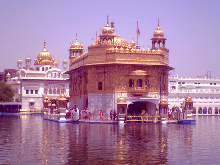 gurudwara: The Golden Temple, Amritsar Stock Photo