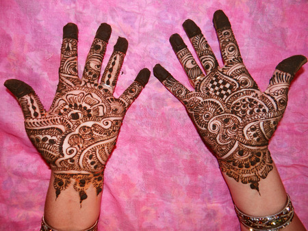 prettify: Decorated Hands with Henna