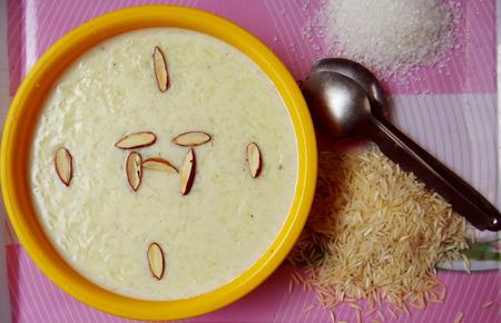 pudding: Rice Pudding Kheer