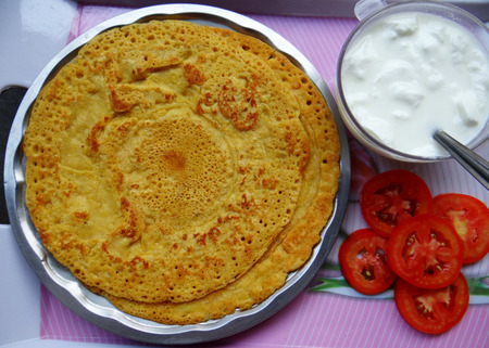 gram: Gram Flour Chila