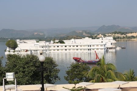 onlooker: Udaipur Lake Palace is one of the most romantic places on this earth. The Palace situated amidst the scenic Pichola Lake offers a heavenly view to the onlooker. Raised in white marble, Lake Palace was constructed by Maharana Jai Singh II in 1746. Editorial