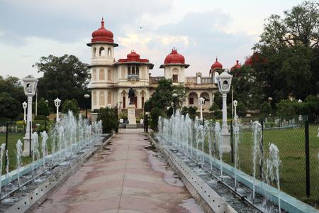 gulab: Beautiful fountains and a Royal Palace in Gulab Bagh Sajjan Niwas Garden, Udaipur
