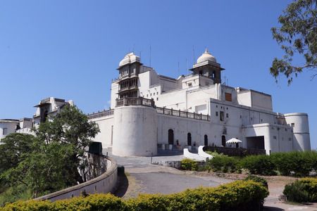 monsoon clouds: The Monsoon Palace or Sajjan Garh Palace, Udaipur