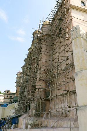 ravel: Construction work in a heritage building